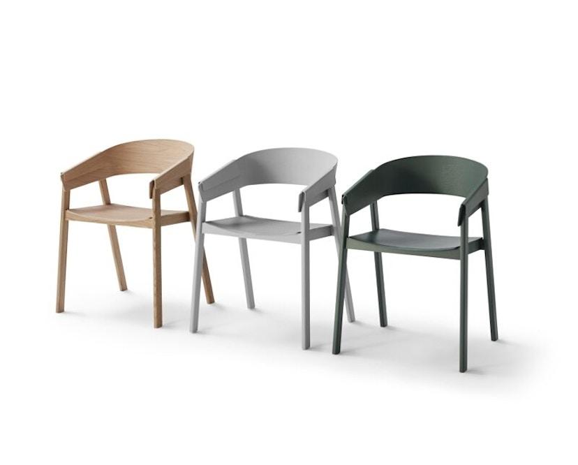 Muuto - Cover Stuhl - grün - 2