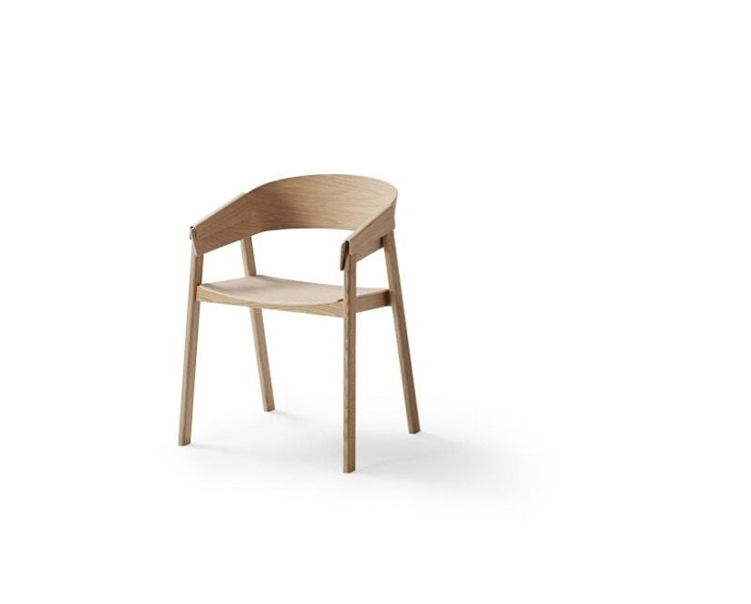 Muuto - Cover Stuhl - eiche - 1