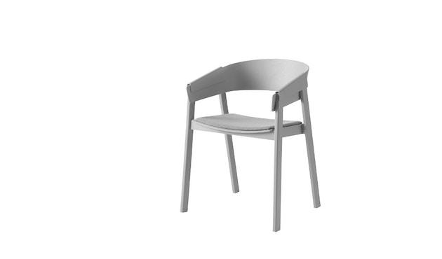 Cover Stuhl mit Polster - Remix 123/ grau - 1