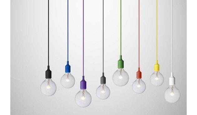 Muuto - Hängeleuchte E27 - LED - olivegrün - 12