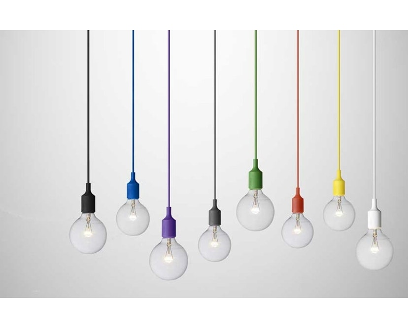 Muuto - Suspension E 27 LED - brun argile - 14