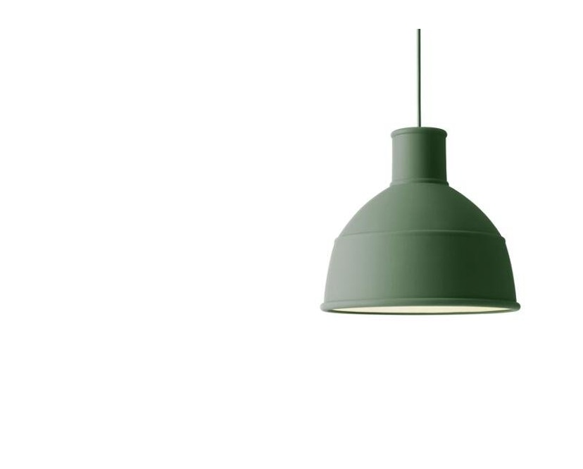 Muuto - Hängeleuchte Unfold Pendant - grün - 3
