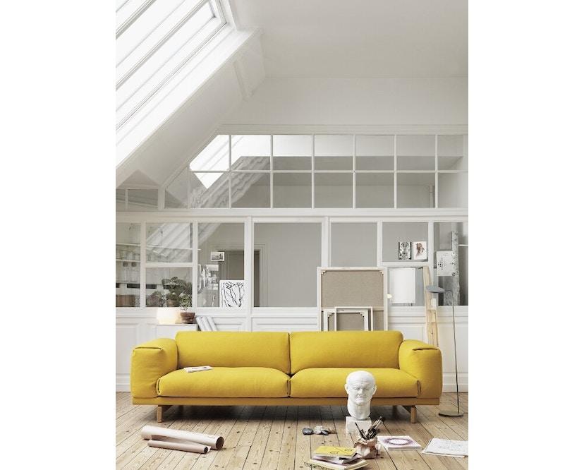 Muuto - Leaf Floor Lamp - gris clair - 3