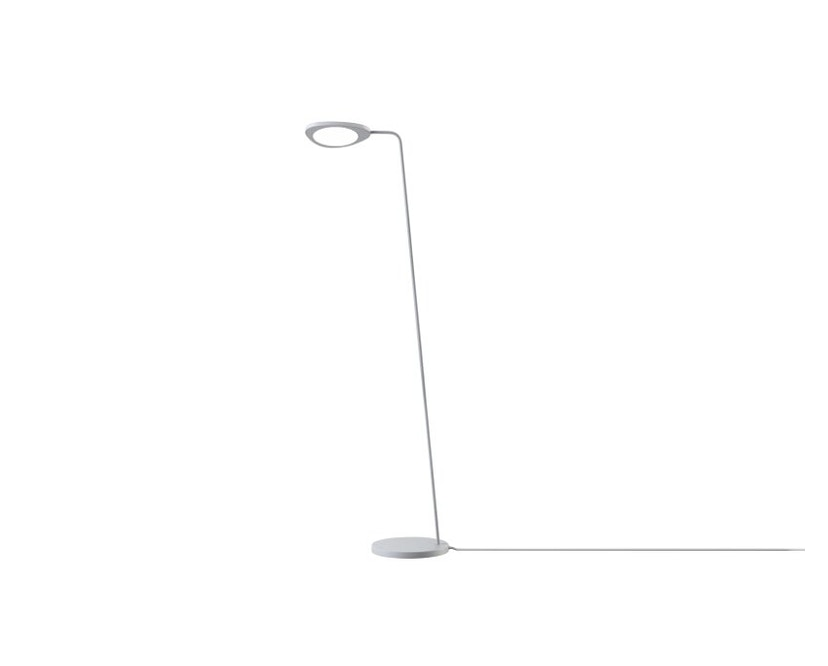 Muuto - Leaf Floor Lamp - gris clair - 1