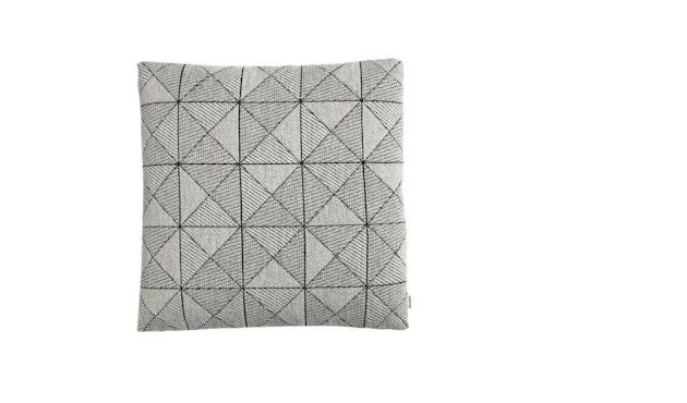 Muuto - Tile Kissen - schwarz / weiß - 1