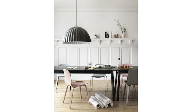Muuto - Visu stoel - Houten onderstel - Rosé - 4