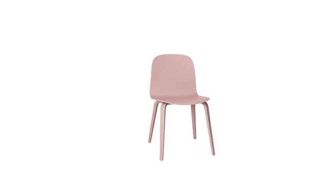 Muuto - Visu stoel - Houten onderstel - Rosé - 1