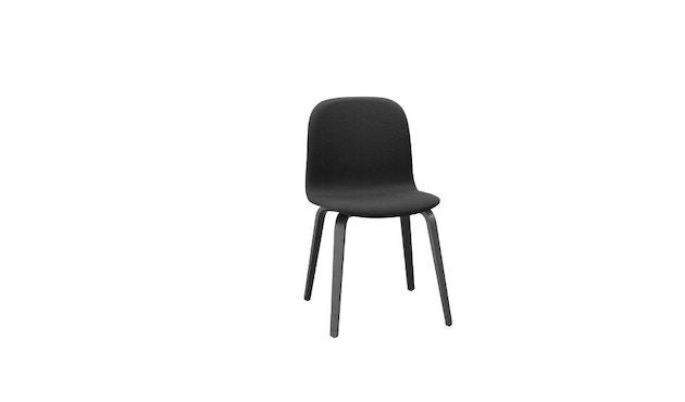 Muuto - Visu stoel gestoffeerd - Wood Base - Steelcut 190 - 1