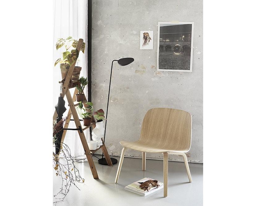 Muuto - Visu Lounge Stuhl - schwarz - 3