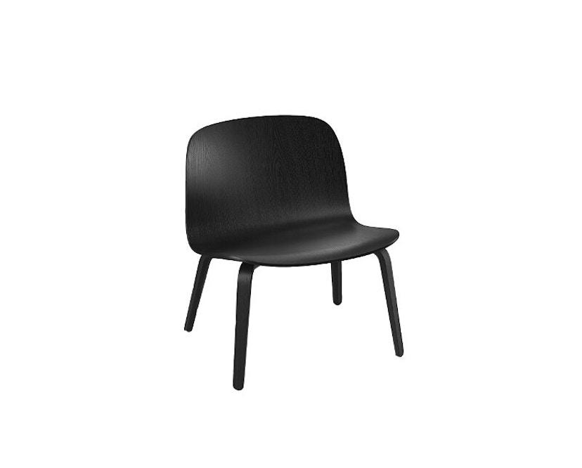 Muuto - Visu Lounge Stuhl - schwarz - 1