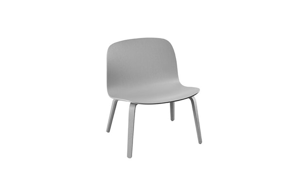 Muuto - Visu Lounge Stuhl - grau - 1