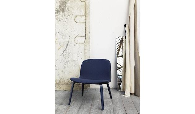 Muuto - Visu Lounge stoel met stoffering - Steelcut Trio 133 - 5
