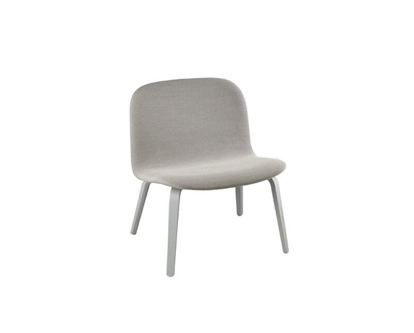 Muuto - Visu Lounge stoel met stoffering - Steelcut Trio 133 - 3