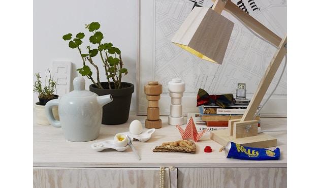 Muuto - Wood Lamp Tischleuchte - weißes Kabel - 3