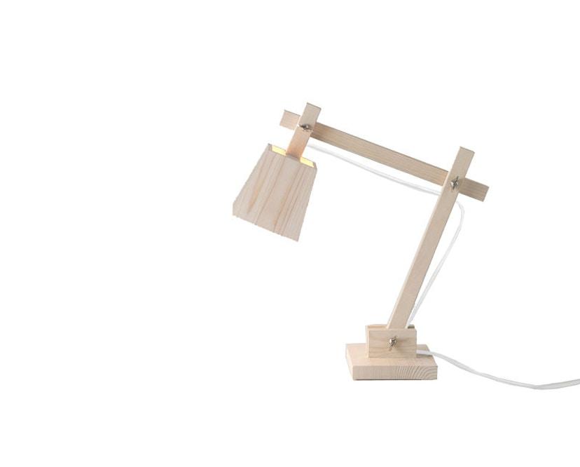 Muuto - Wood Lamp Tischleuchte - weißes Kabel - 1
