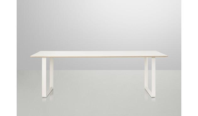 Muuto - Table 70/70 - blanc - Chêne - S - 4