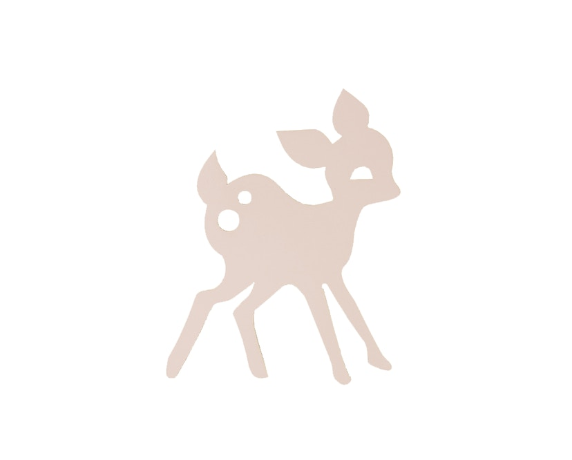 ferm LIVING - My Deer Wandleuchte - rosa - 2