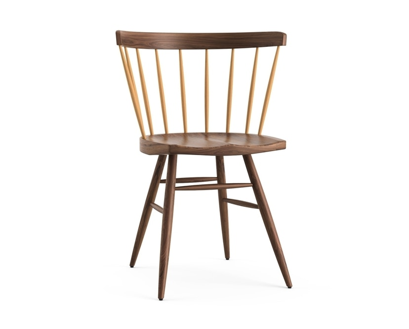 Knoll International - Nakashima Straight Chair - 1