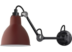 DCW éditions - LAMPE GRAS N°204 wandlamp - rood - 2