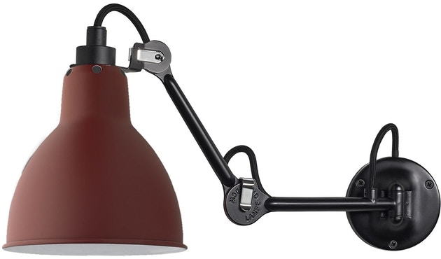 DCW éditions - LAMPE GRAS N°204 Wandleuchte - rot - 1