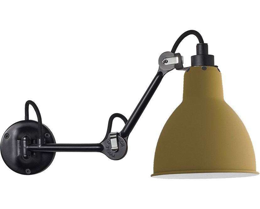 DCW éditions - LAMPE GRAS N°204 wandlamp - geel - 1