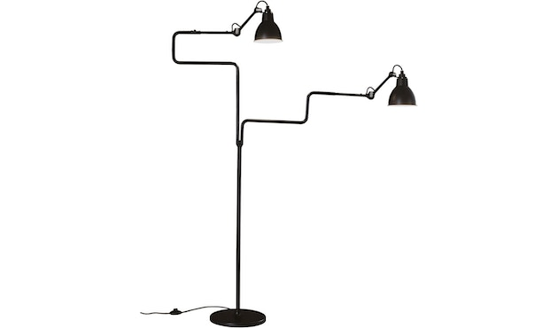 DCW éditions - LAMPE GRAS N°411 DOUBLE vloerlamp - zwart - 2