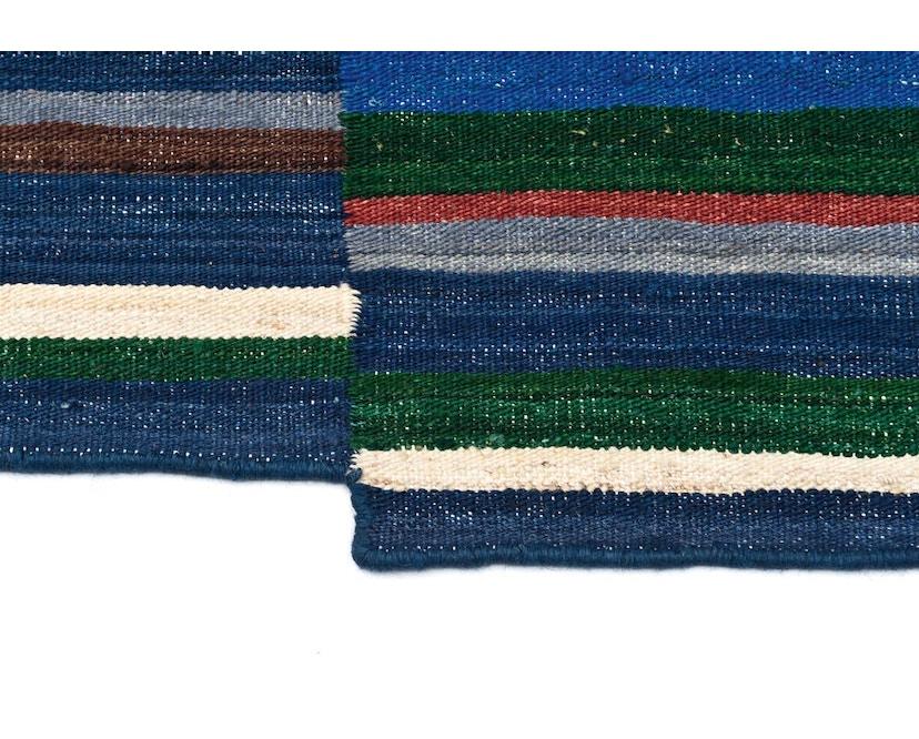 Nanimarquina - Lattice Teppich - blau - 80 x 130 cm - 4