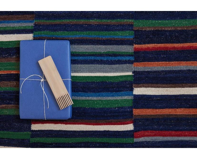 Nanimarquina - Lattice Teppich - blau - 80 x 130 cm - 5