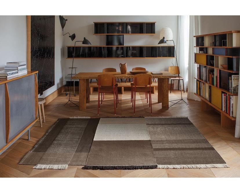 Nanimarquina - Tres Teppich - schwarz - 170 x 240 cm - 5
