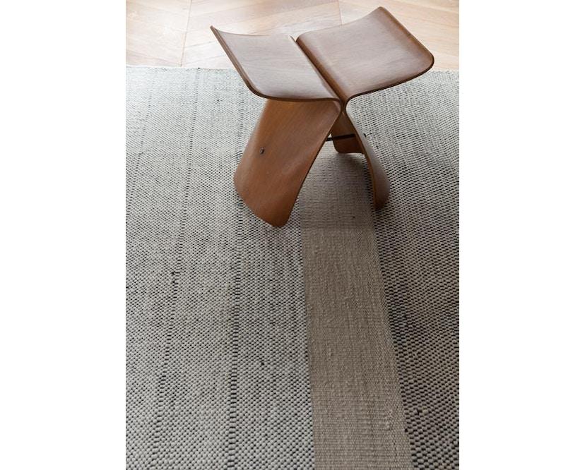 Nanimarquina - Stripes Teppich - schwarz - 80 x 240 cm - 2