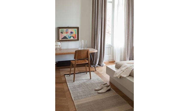 Nanimarquina - Stripes Teppich - schwarz - 80 x 240 cm - 3
