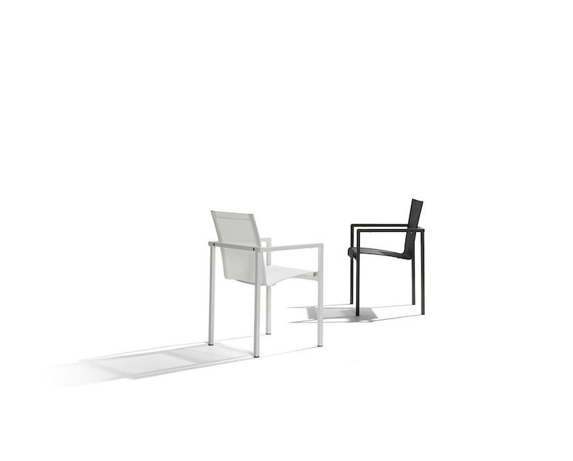 Tribù - Natal Alu Armlehnstuhl - white - 2