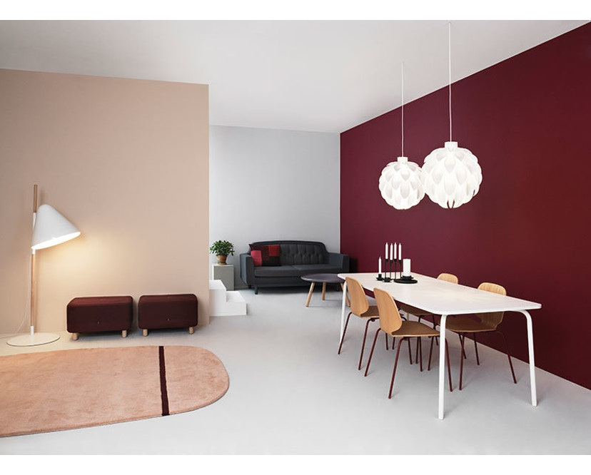 Normann Copenhagen - Hello staande lamp - wit - 7