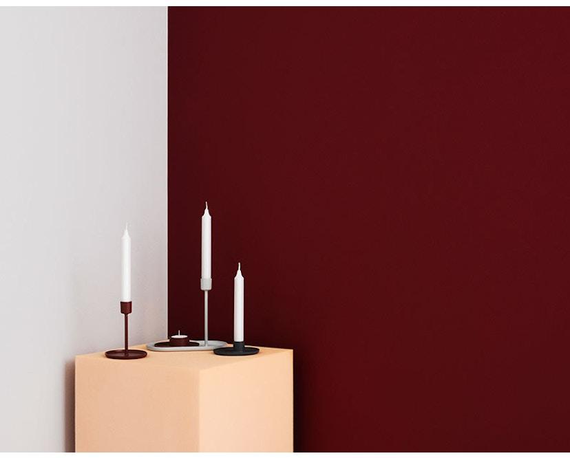 Normann Copenhagen - Folk Kerzenständer - grau - 10