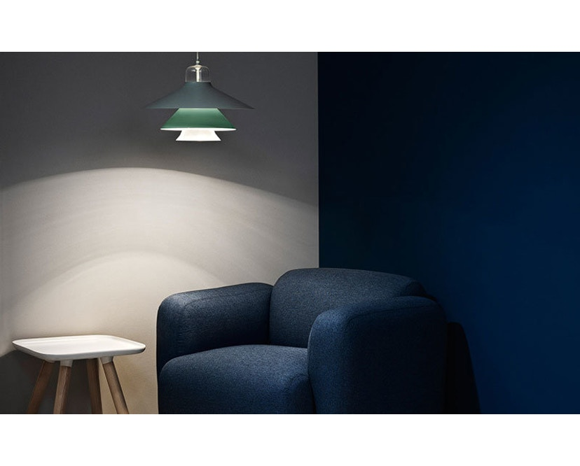 Normann Copenhagen - Ikono Hängeleuchte - S - grau - 2