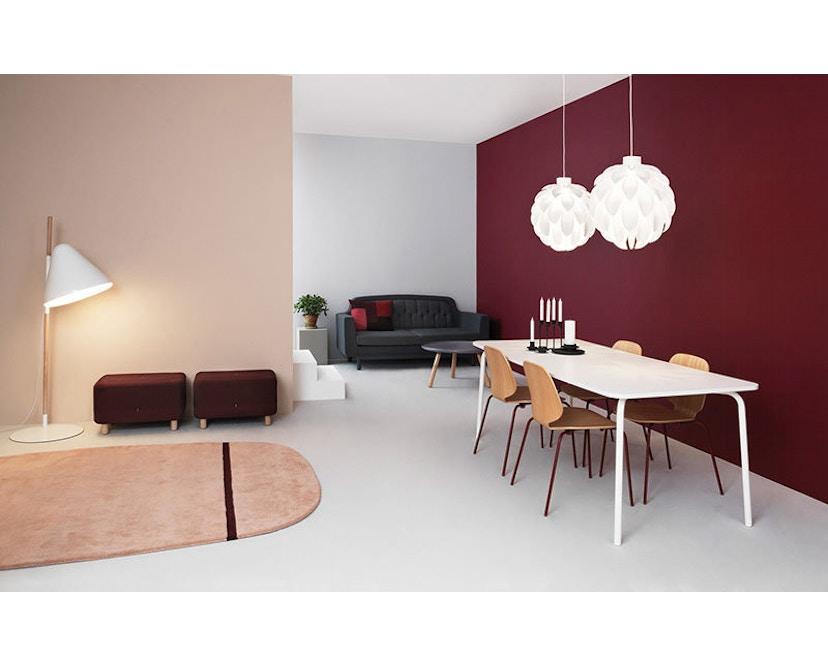 Normann Copenhagen - Oona Teppich 2 - grau - 5