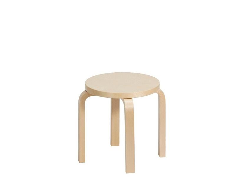 Artek - NE60 Kinderhocker - Gestell Birke/Sitz Birkenfurnier - 1