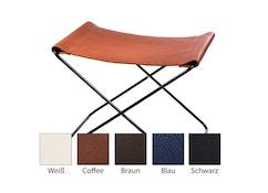 Fußteil für Hardoy Butterfly Chair  - Neckleder