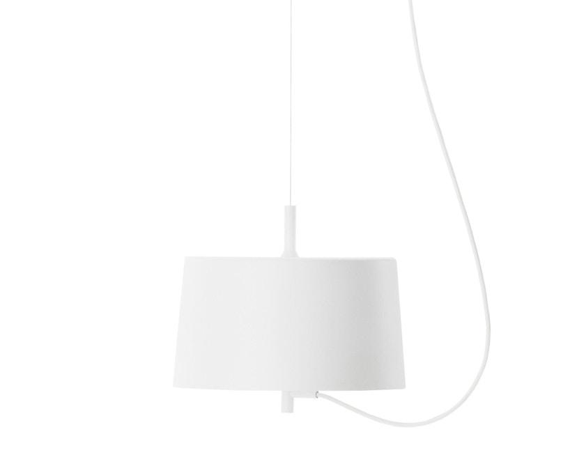 Wästberg - Nendo w132 Pendelleuchte - Zylinder - weiß - 1