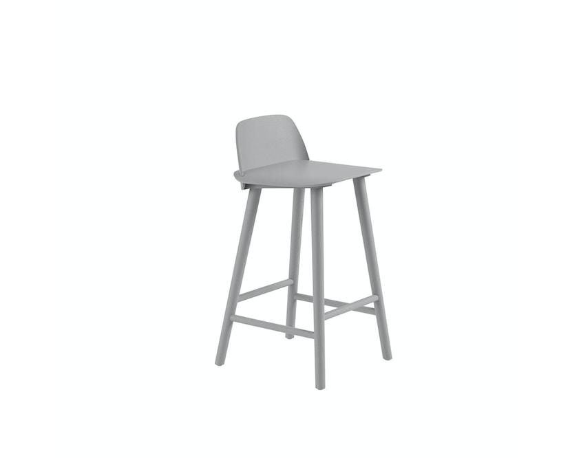 Muuto - Nerd Barhocker - Grey - 65 cm