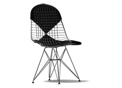 Vitra - Wire Chair DKR-2 - chromé - Hopsak - nero - 1