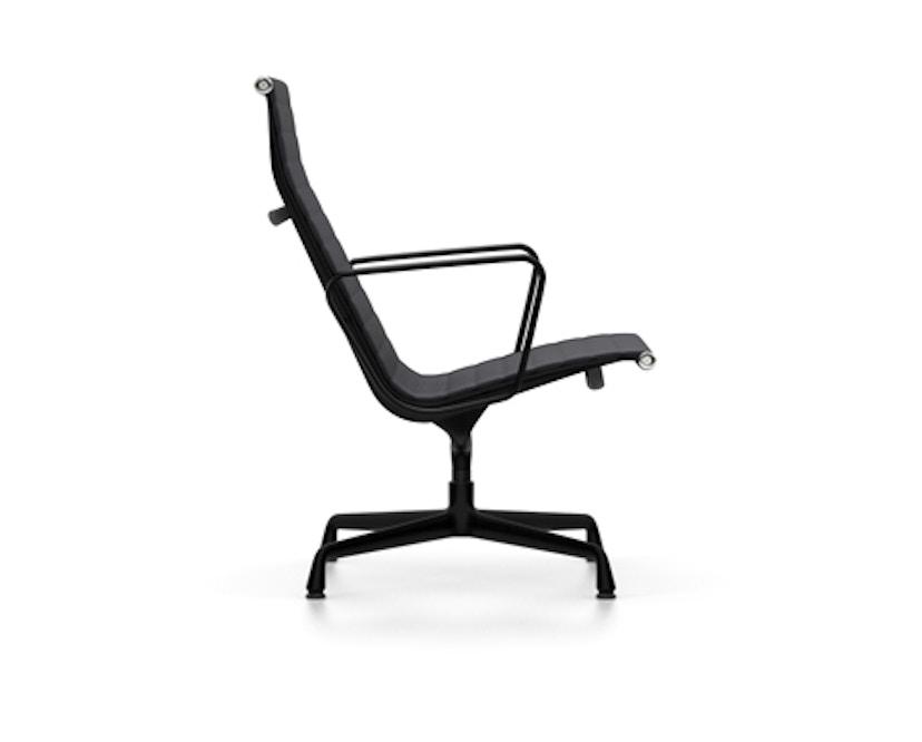 Vitra - Aluminium Chair - EA 116, Gestell beschichtet tiefschwarz, Filzgleiter Hartboden - Hopsak - 66 nero - 2