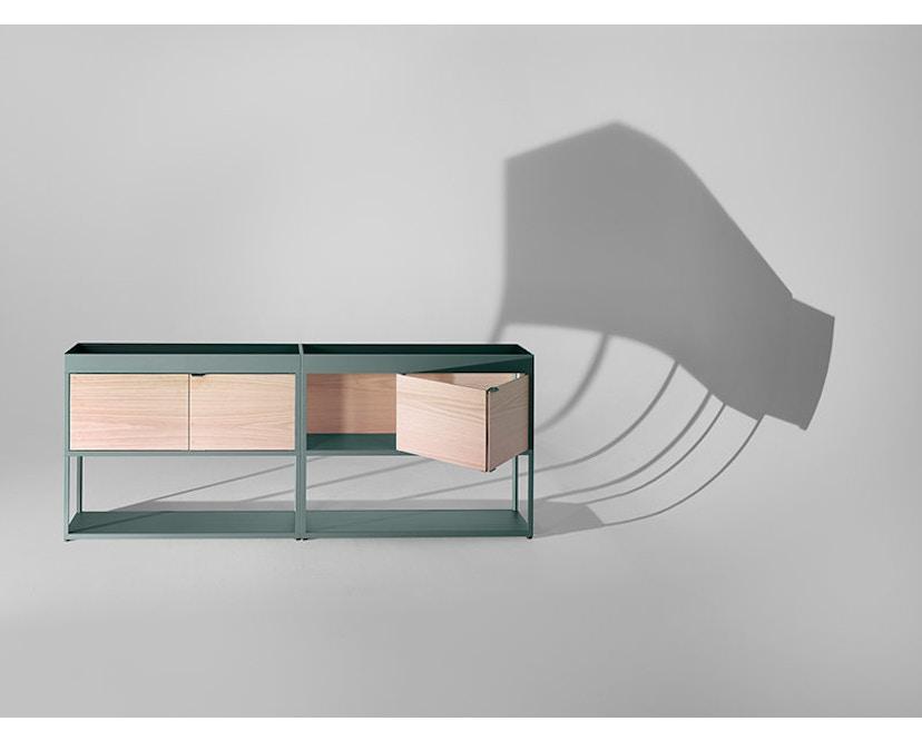 HAY - New Order wand - sideboard - groen - Eiken natuur - 6