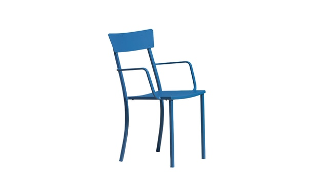 Jan Kurtz - Newton armleunstoel - blauw - 2