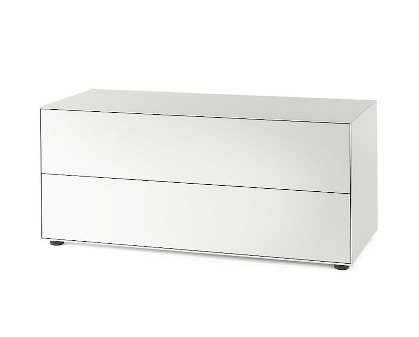 Piure - Nex Pur Box mit Schubkasten - weiß - B120 - H52,5 - 1