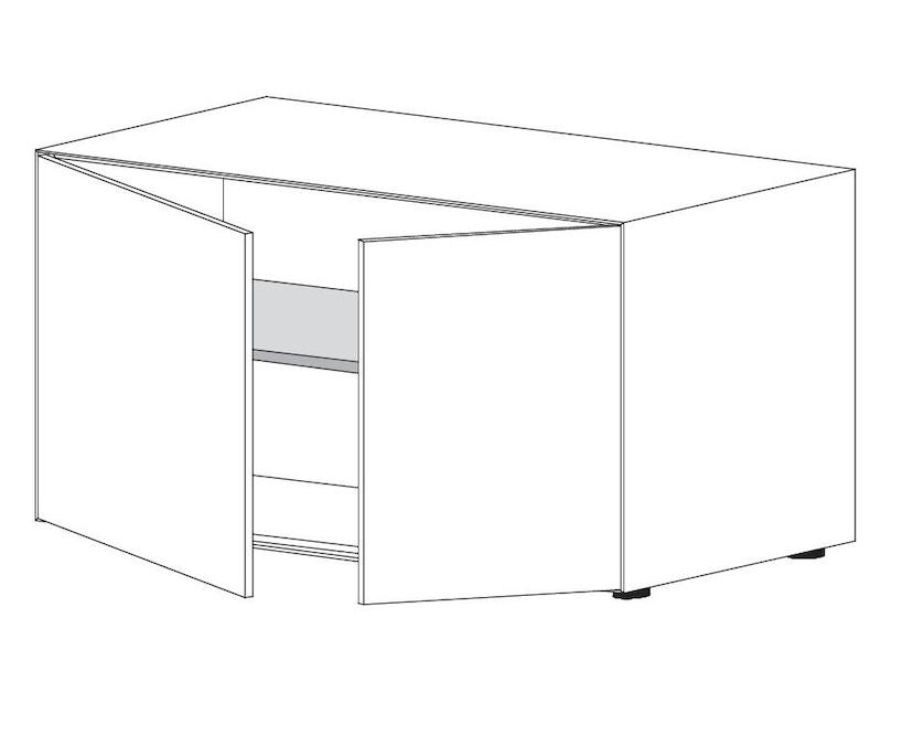 Piure - Nex Pur Box met deur - M - H 75 cm - H 75 cm - 3