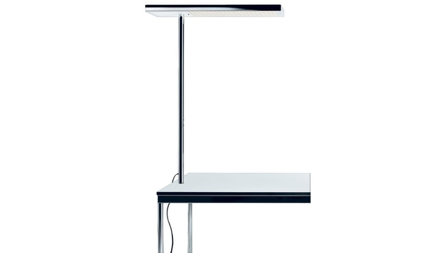 Nimbus - Office Air LED universele tafelbevestiging - chroom - 1