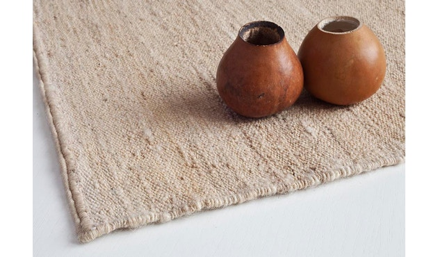 Nanimarquina - Nomad Teppich - natur - 170 x 240 cm - 5