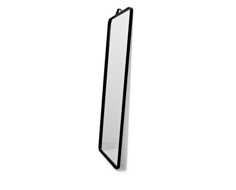 Menu - Norm Standspiegel - schwarz - 2