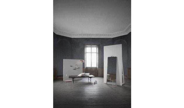 Menu - Norm Standspiegel - schwarz - 4